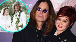 Ozzy, 72, was joined by his wife sharon osbourne, 68, to speak to the loose women panel from their home in los angeles. Ozzy And Sharon Osbourne Celebrate 35th Wedding Anniversary See The Sweet Throwback Pics Entertainment Tonight