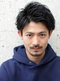 ブロックマッシュリバースメンズ髪型 Lipps 原宿mens Hairstyle