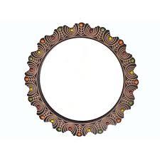 fancy mirror frame. Onlineshoppee Wooden Antique With Handicraft Work Fancy Design Mirror Frame T