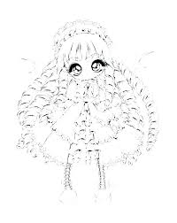 American Doll Printable Coloring Pages Girl Coloring Pages Printable