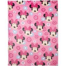 Disney Minnie Mouse Plush Printed Blanket - Walmart.com &  Adamdwight.com