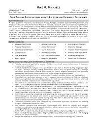 Superintendent Resume Resume Templates