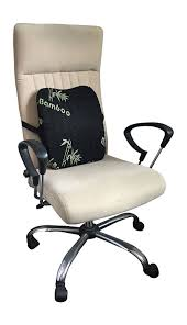 cooling office chair. Relax Home Life Lumbar Pillow, Premium Grade Memory Foam With Cooling Bamboo Cover, Office Chair