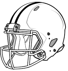 Nfl Football Helmet Coloring Pages Getcoloringpagescom