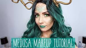 medusa costume makeup tutorial