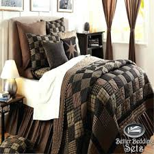 California King Size Bedding Sets California King Size Quilt Sets ... & Details About Country Black Patchwork Twin Queen Cal King Size Quilt  Oversized Bedding Set California King Adamdwight.com