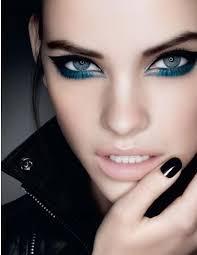 i like the eye makeup natural hair styles make up eye and punk