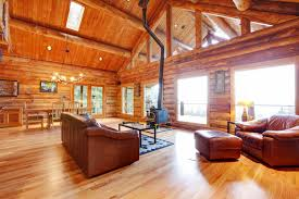 Log Cabin Living Room Design For That Rustic Look A Log Cabin Living Room Photo
