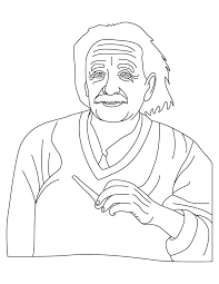 Small Picture Albert Einstein coloring pages Download Free Albert Einstein