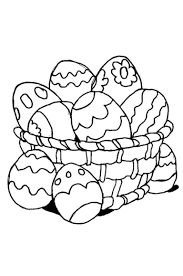 Disegni Di Pasqua Le Uova Da Stampare E Colorare Foto 1840