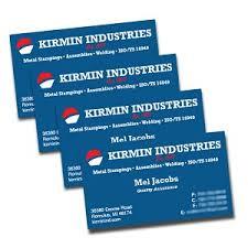 Silk Laminated Business Card Printing 16pt Metro Detroit Mi