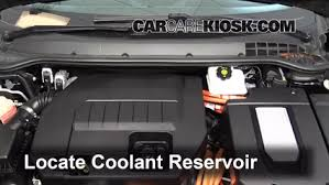 how to add coolant chevrolet volt 2011 2015 2013 chevrolet how to add coolant chevrolet volt 2011 2015 2013 chevrolet volt 1 4l 4 cyl