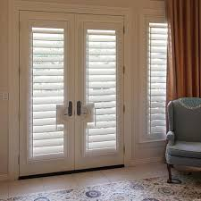 interior window shutters for french doors leander 78641