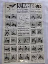 Weider Pro 4300 Exercise Chart Download Weider Pro 4300 Exercise Chart Download Weider 8700