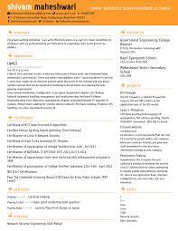 Best Online Cv Or Resume Builder Site - Cse247