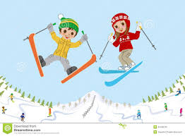 Image result for skiing clipart