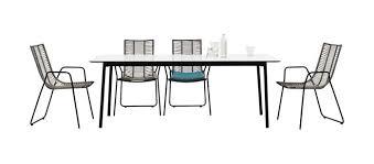 dining table indoor outdoor elba boconcept
