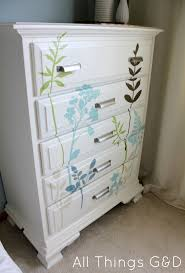 diy decal dresser  all things gd