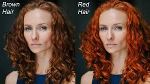 Hair Photoshop How To Change Hair Color With Curves In Photoshop Quick