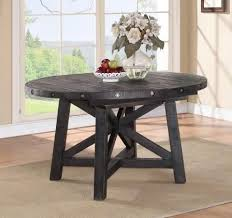furniture amazing rustic round dining tables 25 style 72 inch extension table rustic round dining tables