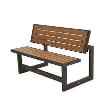 Lifetime Outdoor or Indoor Convertible Patio Bench to Picnic Table