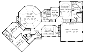 ranch house floor plans. Country House Plan First Floor - 016D-0002 | Plans And More Ranch M