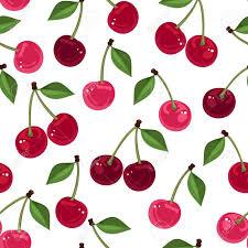 Cherry Pattern Custom Decorating Design
