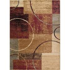 beige rugs 5x7 5 x 7 medium red gray blue and area rug