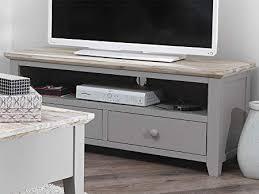 grey tv stand.  Stand Florence TV Unit With 2 Drawers DOVE GREY Stand Shelf And Cable  Access Inside Grey Tv Stand L