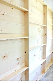 build wall shelves how to build a plank wall shelving diy wall shelves garage build wall shelves