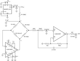 strain gauge equation mechanical electrical large size component full wheatstone bridge a high precision ac design notebook linearization