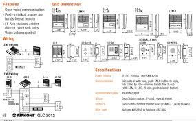 aiphone le an3 3 call surface mount sub station online aiphone video intercom wiring diagram at Aiphone Lef 3l Wiring Diagram