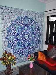 popular blue ombre mandala tapestries hippy hippie wall hanging wall tapestries indian mandala tapestries bohemian tapestry