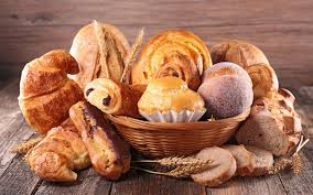 Wallpaper Of Baking Bread Still Life Viennoiserie Background