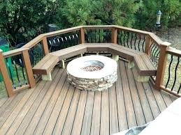 wood deck bench designs how to build a seat with storage large size of seats be
