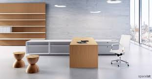 large white office desk. ceo cedar wood large directors desk white office
