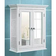 white bathroom wall cabinets.  Bathroom WHITE BATHROOM WALL CABINET RATTAN SIDES MIRROR DOORS Intended White Bathroom Wall Cabinets S