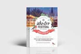 Flyer Poster Templates Winter Festival Flyer Poster Templates