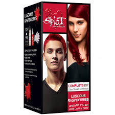 Splat Rebellious Colors Semi Permanent Hair Dye Luscious Raspberries