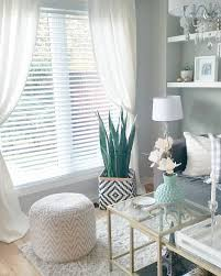 image result for wooden blinds and curtains together