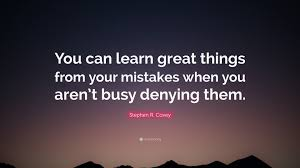 "Busy Quotes Amazing Stephen R Covey Quote ""You Can Learn Great Things From Your"