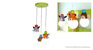 creative animal chandelier ceiling light lamp cartoon children lamp