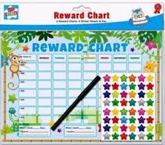 Details About 6 X Childrens Reward Behaviour Charts With Star Stickers New