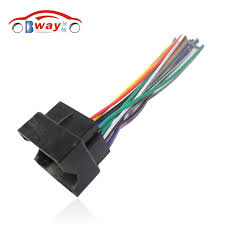 car stereo female iso radio plug power adapter wiring harness ford focus wiring harness car stereo female iso radio plug power adapter wiring harness special for ford focus s