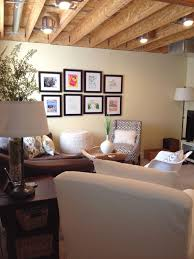 unfinished basement ceiling ideas. Exposed Unpainted Ceilings | Open Basement Ceiling Ideas Is A Part Of . Unfinished I