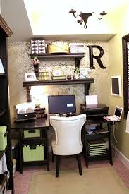 designing small office space. wallpapered office nook small spaceswork designing space