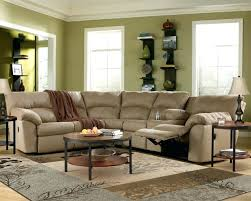 beige leather reclining sofa power top grain sectional reviews for home improvement delectable rec s l shape