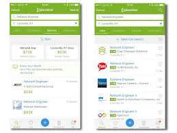 gallery mobile apps for making job hunting and networking glassdoor job search