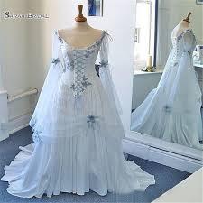 2019 <b>Romantic</b> A Line Dresses With Long Sleeve <b>Vestido De Novia</b> ...