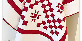 Create a Classic Red and White Quilt - Quilting Digest & Create a Classic Red and White Quilt Adamdwight.com
